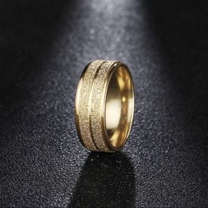 18K Gold plated Scrub Engagement Wedding Ring Jewelry for Sale in Houston, TX