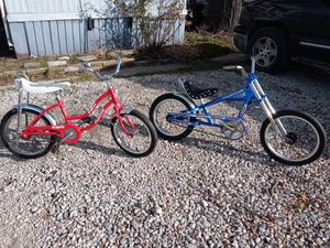 Schwinn Pixie & Stingray Chopper Price is for Both bikes for Sale in Clinton Township, MI