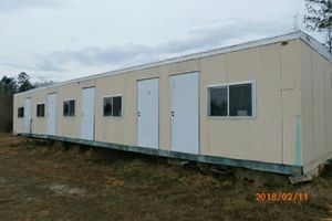 55 ft by 12 ft trailer for office or mobile home for Sale in Moseley, VA