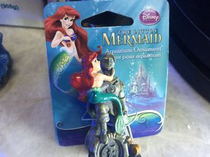 Little Mermaid Aquarium Decoration for Sale in Hialeah, FL
