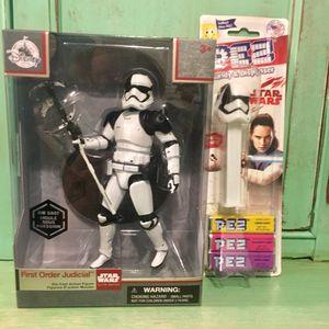 Star Wars Elite Series First Order Judicial Stormtrooper Figure and Pez Dispenser Set for Sale in Tampa, FL