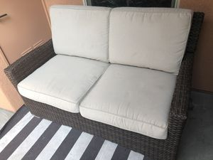 Patio/Outdoor Furniture - Wicker Loveseat from Target for Sale in Irvine, CA