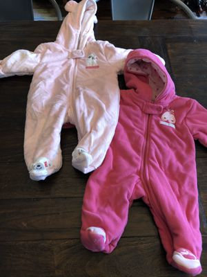 Snowsuits for baby 3mo for Sale in Tacoma, WA