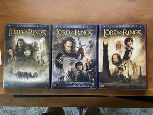 Lord of the Rings Trilogy Dvd's for Sale in Matawan, NJ