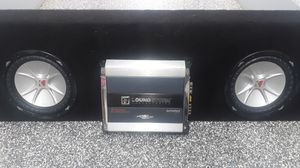 Speaker's and amplifier for Sale in Escondido, CA