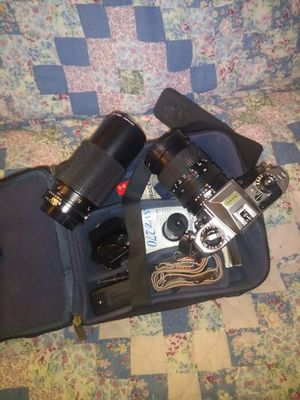 "Nikon camera ""set"" with lenses for Sale in Largo, FL"