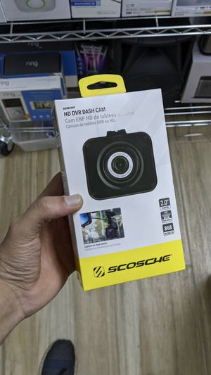 Scosche Black ddvr2409 hd dvr Night Vision Suction Cup Dash Camera with 8gb Micro-sd Card for Most Cars! Brand New in Box! for Sale in Arlington, TX