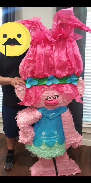 Trolls Poppy piñata 5-6 ft tall for Sale in Fort Worth, TX
