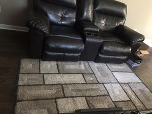 3 pieces recliners( love seat with cup holder, oversized chair and couch) ALL three for sale $500.00 or Best Offer for Sale in Pickerington, OH
