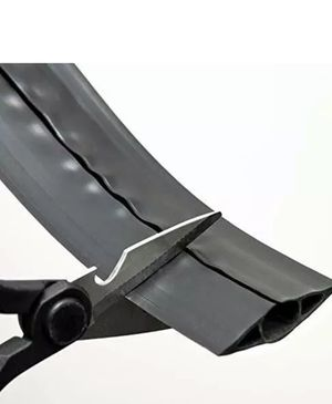 D-Line 30-ft x 2.5-in PVC Black Overfloor Cord Cable Protector for Sale in Riverdale, GA