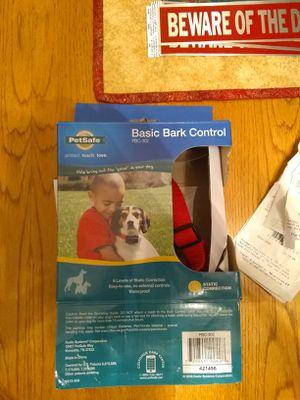 Petsafe bark control dog collar. for Sale in Battle Ground, WA