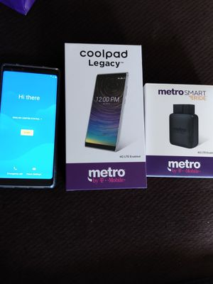 Metro pcs Coolpad Legacy and smartride for Sale in Vinton, VA