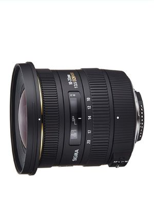 Sigma 10-20mm f3.5 EX DC Lens for Nikon DSLR for Sale in Los Angeles, CA