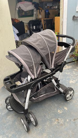 Graco convertible double stroller for Sale in Los Angeles, CA