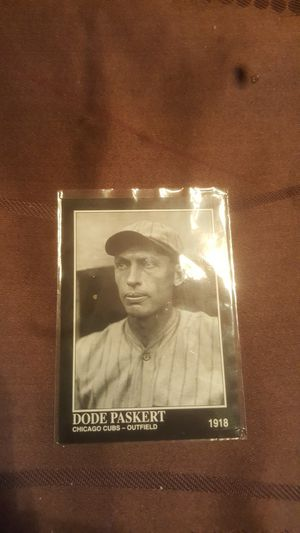 DODE Paskert baseball card for Sale in Stanton, CA