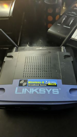 LinkSys Wireless-G 2.4 GHz 54Mbps Broadband Router for Sale in Westminster, CO