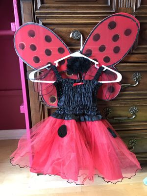 Ladybug 2/3T girls costume. Great condition. Nothing wrong with it wore once. for Sale in Tampa, FL