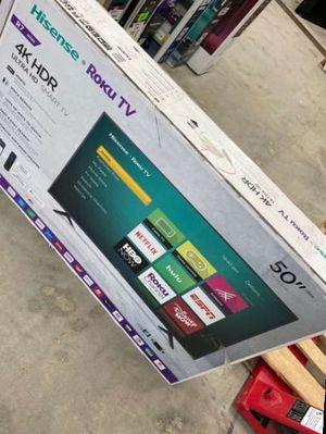 Hisense roku 50 inch tv 😎😎😎😎 5OKH for Sale in Corona, CA
