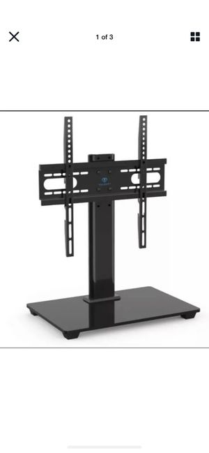Perlesmith PSTVS04 Universal TV Stand for 37-55 Inch LCD LED TV - Black for Sale in Mt. Juliet, TN
