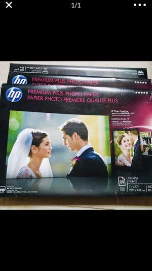 3 packs of premium photo paper for Sale in Miami Gardens, FL