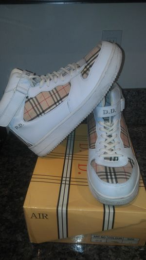 Moch Burberry High Tops(custom) for Sale in Moreno Valley, CA