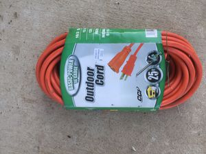 25ft outdoor cord for Sale in Fresno, CA