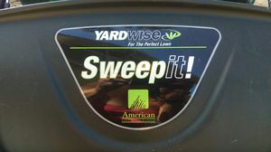 NEW LAWN LEAF SWEEPER for Sale in Appleton, WI