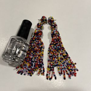 Beaded Tassel Earrings for Sale in Bellevue, WA