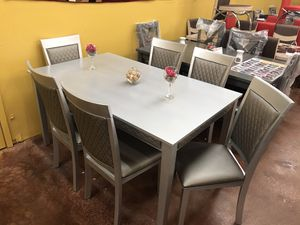 Dining table with chairs brand new in the box 📦 for Sale in Dallas, TX
