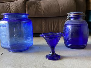 Blue Glass Collection for Sale in Santa Clarita, CA