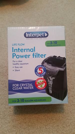 Aquarium fish tank Internal power filter interpet for Sale in Lynnwood, WA