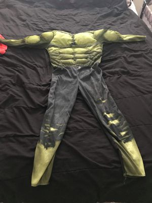 Hulk costume no mask 10-12 for Sale in Simsbury, CT