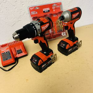 Milwaukee Brushless Impact And Hammer Drill M18 for Sale in Houston, TX
