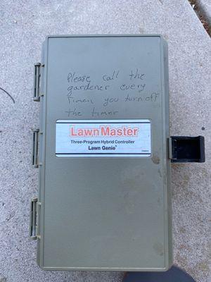 Lawn Genie Lawn Master Sprinkler controller 12 zone for Sale in Fresno, CA