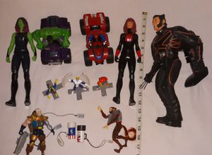 Marvel figure lot $10 for all pu in Franklin No Holds for Sale in Franklin, IN