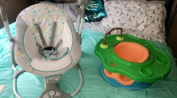 Baby Swing & Booster Play Seat
