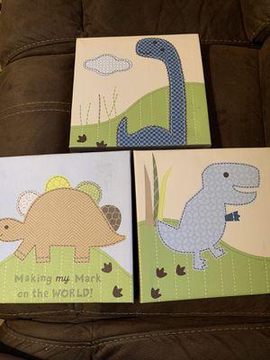 Dinosaur Canvas for Sale in Buckeye, AZ