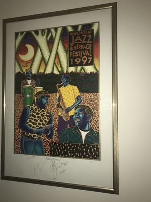 1997 New Orleans Jazz & Heritage Festival Piece for Sale in Chapel Hill, NC