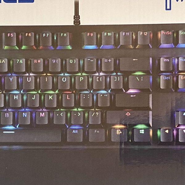 Eluktronics MECH-KB Mechanical Gaming Keyboard NEW