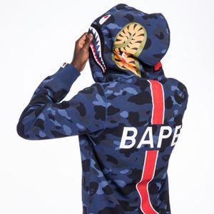 BAPE X PSG A Bathing Ape Camo Blue Hoodie for Sale in Lake Oswego, OR