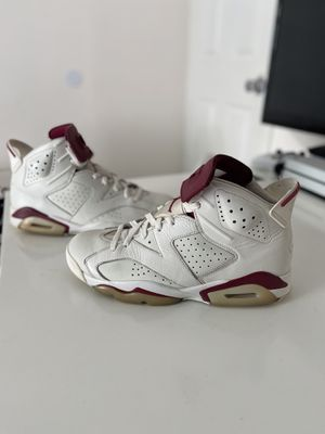 Nike air Jordan retro 6 maroon size 10 160$ send offers for Sale in Federal Way, WA