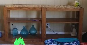 Wood TV stand for Sale in Cypress, CA