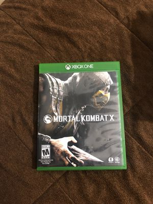 Mortal Kombat X for Sale in Riverside, CA