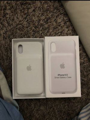 iphone x/xs smart battery case for Sale in Westminster, CO
