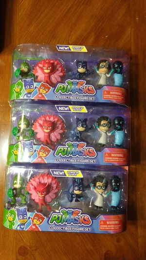 pjmasks collectible figure set for Sale in Del Valle, TX
