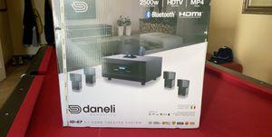 Surround sound Daneli speaker set for Sale in Yalesville, CT