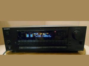 SONY STR-D711 STEREO RECEIVER, 3 SPEAKERS, AND SUBWOOFER for Sale in Bradenton, FL