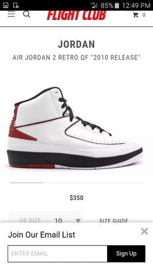 Nike Air Jordan's 2 retro QF size 15 for Sale in Rockville, MD