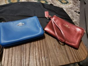 Coach wristlets. Used for a short while. In great condition. for Sale in Austin, TX