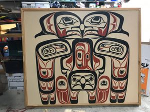 Large painting, Pacific Northwest images for Sale in Herndon, VA